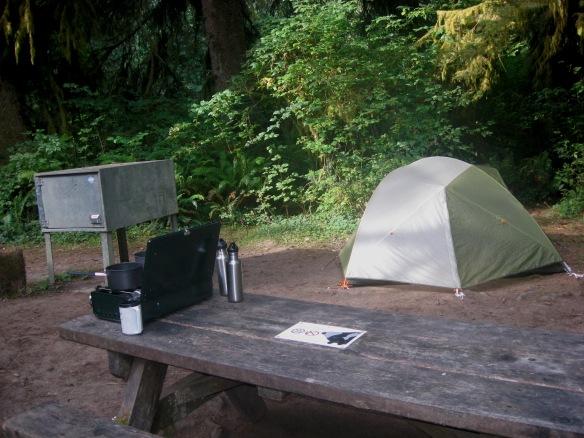 Prairie Creek campsite 44 9-2013
