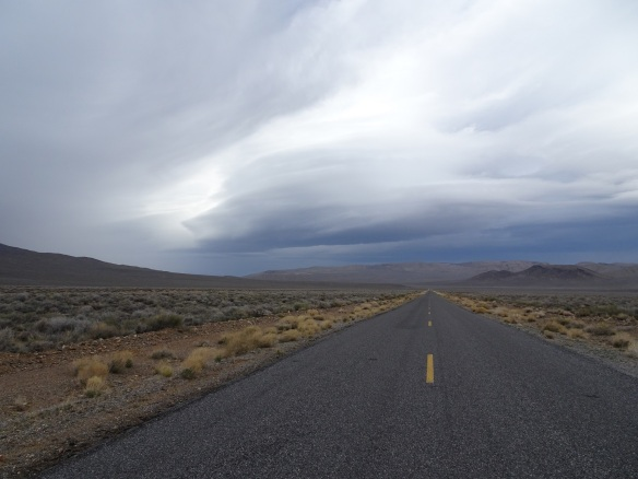 Storm view descending Emigrant Canyon Road Death Valley 2-1016 smaller